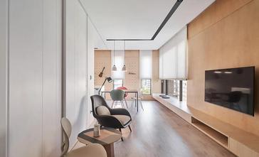 60平米一居室宜家风格影音室图