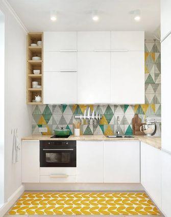 50平米一室一厅欧式风格厨房图片