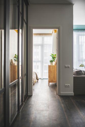 70平米公寓英伦风格走廊装修图片大全