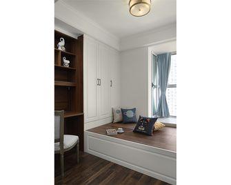 110平米三室一厅美式风格卧室欣赏图