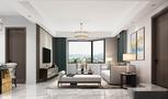 10-15万110平米三室一厅新古典风格客厅装修图片大全