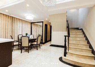 20万以上140平米别墅混搭风格楼梯效果图