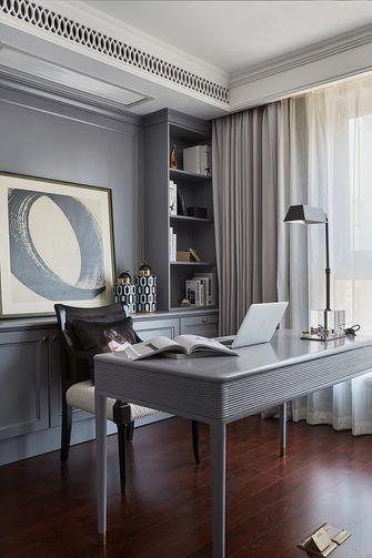 140平米三室两厅法式风格书房效果图