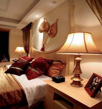 130平米三东南亚风格卧室设计图