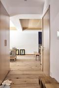 130平米三室一厅日式风格玄关欣赏图
