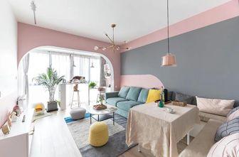60平米一室一厅欧式风格客厅装修案例