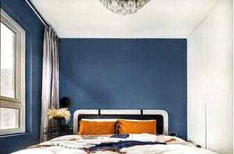 60平米现代简约风格卧室欣赏图