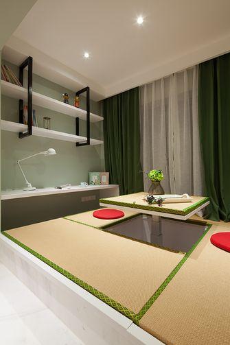 110平米三室两厅混搭风格阳光房装修效果图