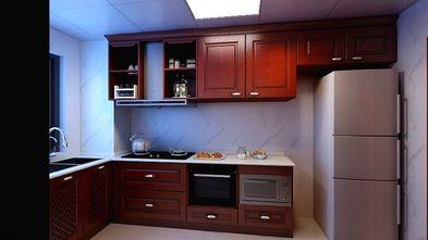120平米三室一厅中式风格厨房装修图片大全