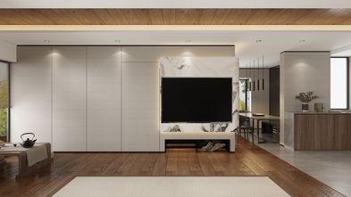 90平米三室两厅现代简约风格客厅设计图