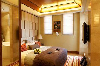 80平米复式东南亚风格卧室效果图
