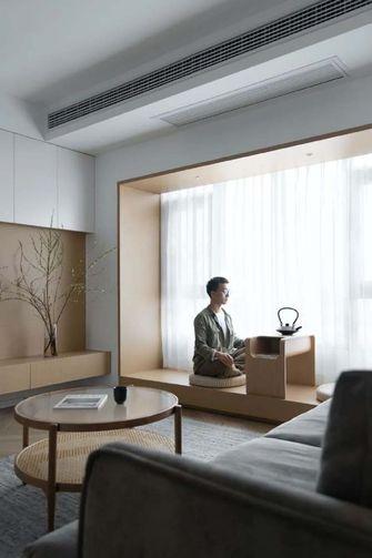 110平米三室两厅日式风格阳台图片大全