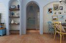 110平米三室两厅地中海风格玄关图片