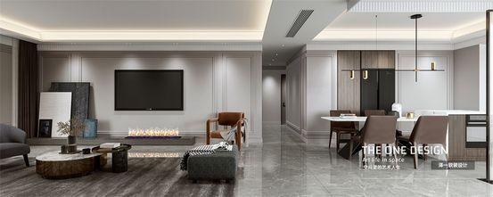 140平米复式法式风格客厅图片
