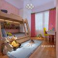 90平米欧式风格儿童房图片大全