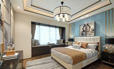 80平米中式风格卧室装修效果图