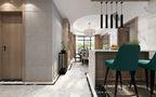 120平米三室一厅新古典风格餐厅装修案例