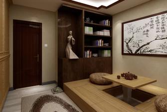 110平米三中式风格储藏室欣赏图