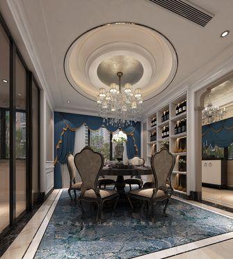 140平米四室两厅新古典风格餐厅图片