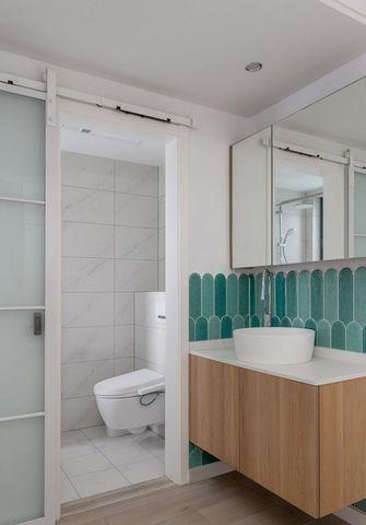 60平米三现代简约风格卫生间设计图