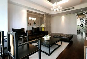 100平米三中式风格客厅图片大全