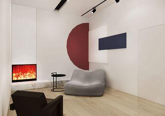 130平米复式日式风格健身室设计图