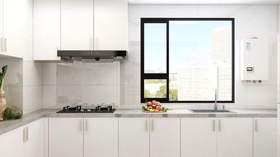 130平米三室一厅新古典风格厨房图