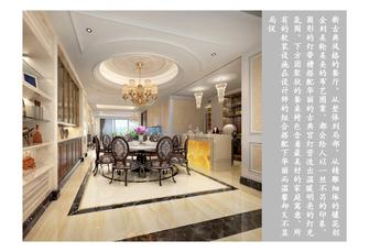 20万以上140平米三新古典风格厨房欣赏图