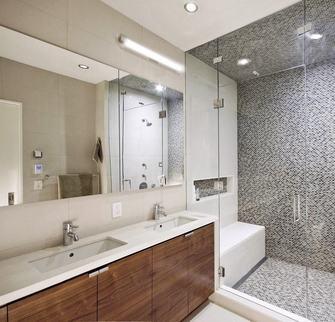 110平米三日式风格卫生间装修案例