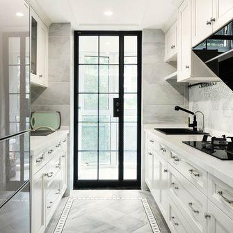 120平米三室两厅欧式风格厨房图片大全