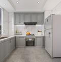 130平米三室两厅欧式风格厨房欣赏图