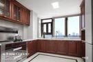 140平米三室三厅美式风格厨房效果图
