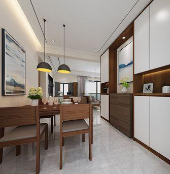 60平米一室一厅现代简约风格餐厅设计图