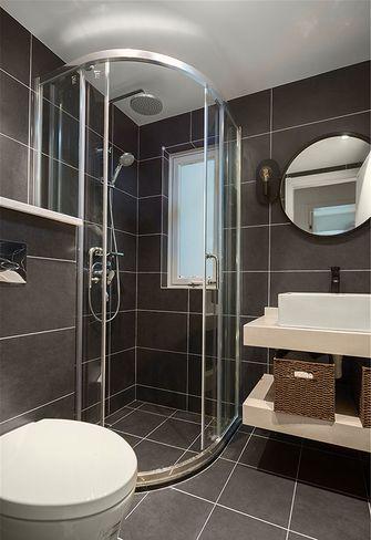 80平米三室一厅混搭风格卫生间装修案例