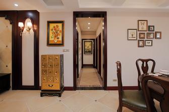 140平米三室两厅美式风格走廊装修案例