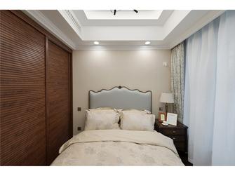 80平米三室一厅美式风格卧室效果图