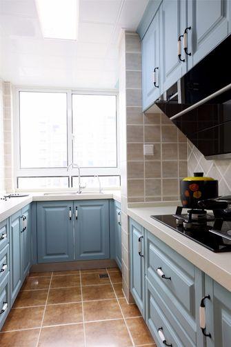 110平米四室两厅美式风格厨房装修图片大全