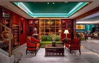 140平米别墅中式风格影音室设计图