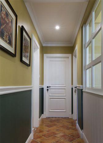 100平米三室两厅田园风格走廊图片大全