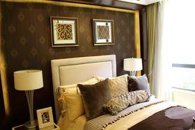 经济型70平米三室两厅现代简约风格卧室装修案例