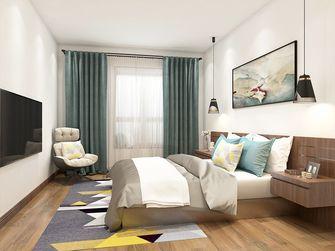 130平米三室两厅英伦风格卧室装修图片大全
