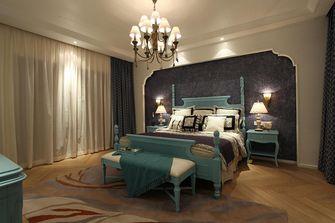 140平米复式田园风格卧室装修案例
