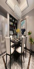 120平米三室三厅混搭风格餐厅装修图片大全