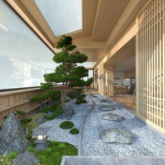 140平米别墅日式风格阳台装修效果图