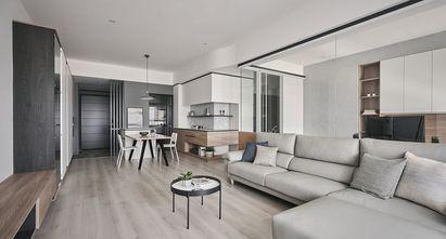 90平米混搭风格客厅装修案例