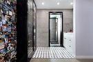 110平米三室三厅混搭风格卫生间欣赏图