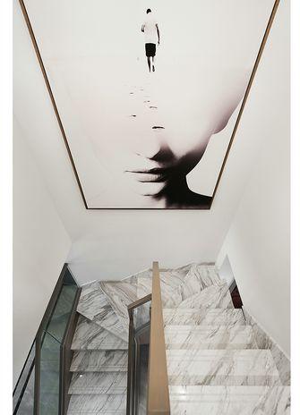 130平米复式其他风格楼梯间图