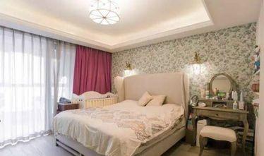 100平米英伦风格卧室设计图