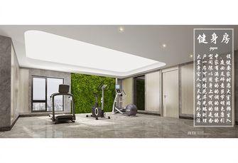 豪华型140平米复式现代简约风格健身室设计图