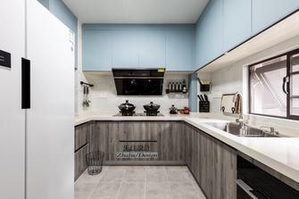 富裕型120平米三室一厅混搭风格餐厅装修案例